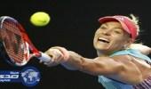 كيربر تواصل تصدرها لتصنيف لاعبات التنس وموجوروزا تقفز مركزين