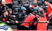 بالفيديو.. مراهق يقتل مشجعاً في اشتباكات بين جماهير الدوري الأرجنتيني