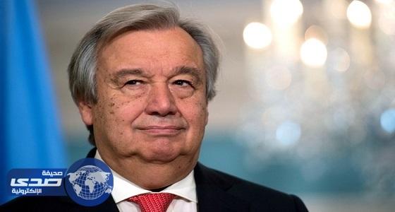 الأمين العام للأمم المتحدة يؤكد استعداد المنظمة لتقديم المساعدة جراء الحرائق بالبرتغال