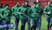 هوساوي ينتظم في مران الأخضر