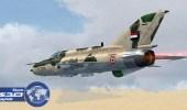 طائرات النظام السوري تشن غارات عنيفة على محيط مخيم خان الشيح بريف دمشق