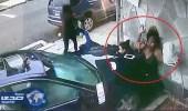 بالفيديو.. سيدة تنقذ طفلاً من موت محقّق