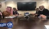 وزير العمل يلتقي نظيره المغربي على هامش المؤتمر الدولي بجنيف