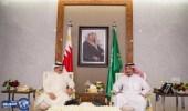 خادم الحرمين الشريفين يستقبل ملك مملكة البحرين