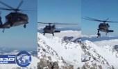 بالفيديو.. أخطر عملية إنقاذ فوق قمة جبال ثلجية في كولورادو