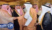 أمير نجران يستقبل المبايعين لمحمد بن سلمان وليًّا للعهد