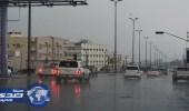 أمطار متوسطة على محايل