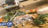 إغلاق 17 محلا مخالفا ومصادرة نصف طن مواد غذائية فاسدة بجازان