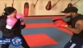 بالفيديو.. شيلاء سبت تمارس رياضة البوكسنك العنيفة في شهر رمضان