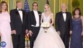 بالفيديو ..حفل زفاف وزير الخزانة الأمريكي والممثلة لويز لينتون بحضور ترامب