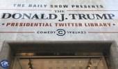 معرض خاص بتغريدات ترامب نهاية الأسبوع في نيويورك