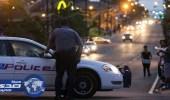 بالفيديو.. الشرطة الأمريكية تحمي المصلين وتلهو مع الأطفال