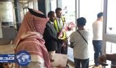 مطار أبها يحتفل بتدشين أولى رحلات الخطوط السعودية الخليجية