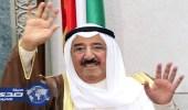 أمير الكويت يغادر المملكة بعد زيارة قصيرة