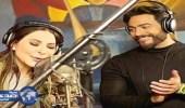 بالفيديو.. أول دويتو لإليسا وتامر حسني