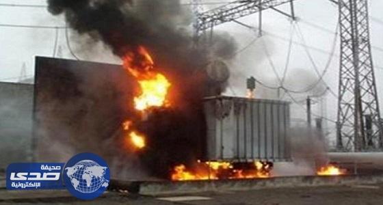 السيطرة علي حريق جزئي بعداد كهرباء شمال الطائف
