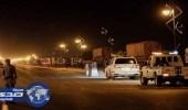أمن وادي الدواسر يمنع دخول الشاحنات في أوقات الذروة المسائية