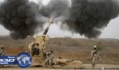 بالفيديو .. قوات الحد الجنوبي تفجر مبنى قذائف للحوثيون على حدود جازان