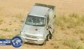 تدمير مركبة حاولت التسلل عبر الحدود مع اليمن