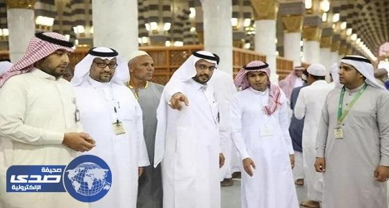 وكالة المسجد النبوي: نهيئ أماكن للعبادة فقط ولا يسمح بالمكوث فيها