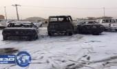 سقوط مقذوف عسكري على نجران أطلقه حوثيون