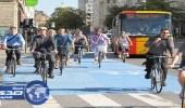 الدنمارك تبتكر حلاً لمشكلة مرور الدراجات