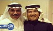 الرويشد: سعادتي لا توصف و انا اقف بجوار فنان العرب