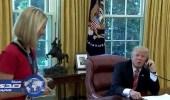 بالفيديو.. ترامب يغازل صحفية أيرلندية في البيت الأبيض
