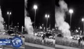 بالفيديو..مصرع مواطن انفجرت ألعاب نارية في وجهه باحتفالات عيد الرس