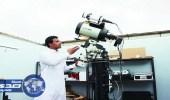 مواطن يحقق حلمه في علم الفلك بـ100 ألف ريال