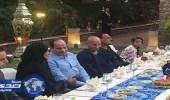 """بالصور.. """" السيسي """" يستقبل مجموعة من المواطنين لتناول وجبة الإفطار معه"""