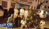 القبض على 8 مخالفين في سوق خضار أبها