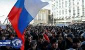 احتجاز زعيم المعارضة الروسية في مسيرة مناهضة لبوتين
