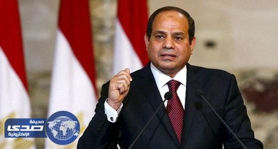 الرئيس المصري للإذاعة الألمانية: على المجتمع الدولي الضغط لكبح الدول الممولة للإرهاب