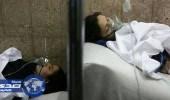 بالصور.. مادة كريهة تصيب العشرات باختناقات بمدينة للسنة في إيران