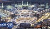 صور جوية تبين الأجواء الروحانية للمسجد الحرام في شهر رمضان