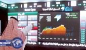 مكاسب سوق الأسهم تجاوزت 4 % بعد الأوامر الملكية