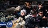 الجيش اليوناني يقدم المساعدة لسكان جزيرة ليسبوس