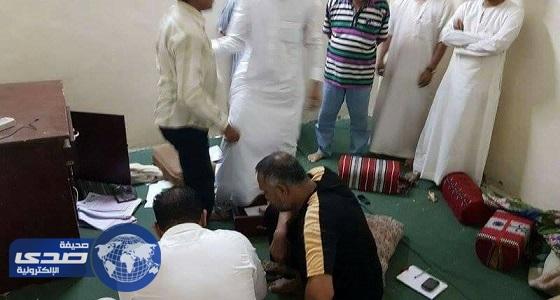 بالصور.. ضبط 18 آسيويًا يلعبون القمار في شقة بحي الخالدية بالعاصمة المقدسة