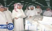 مدير تعليم الرياض في زيارة تفقدية لمستودعات الكتب المدرسية