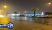هطول أمطار متوسطة إلى غزيرة على جازان