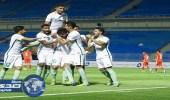 الأخضر الأولمبي يفوز على البحرين بثلاثة أهداف في تصفيات كأس آسيا