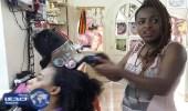 صالون متخصص بتصفيف شعر العاملات الأثيوبيات في لبنان