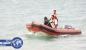 انقاذ مواطن من الغرق بشاطئ البدع في تبوك