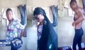 بالفيديو.. شاب يتنكر بزي نسائي للعمل خادمة منزلية