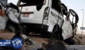 مصرع شخص وإصابة 5 آخرين في حادث تصادم شرق مركز صحي وادي ستارة