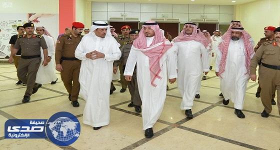 نائب أمير عسير يتفقد مدينة الأمير سلطان الرياضية والمركز الحضاري بخميس مشيط