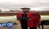مبتعث بأمريكا يحصل على الدكتوراه مع مرتبة الشرف الأولى