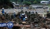 بالصور.. 18 قتيلا حصيلة ضحايا فيضانات اليابان