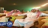 بالصور.. الملازم باسم الغامدي يحتفل بزواجة بقصر الجزيرة بالمخواه